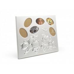 Rama foto Woezel&Pip si prietenii, placat cu argint lacuit- 4194231