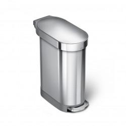 Cos de gunoi cu pedala slim, 45 l- CW2067