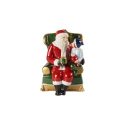 Decoratiune Craciun Christmas toys Santa on armchair-357372
