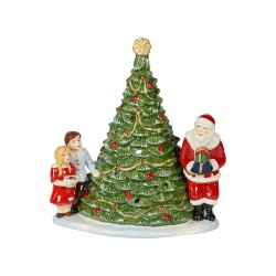 Decoratiune suport lumanare Christmas Toys Santa on tree-367180