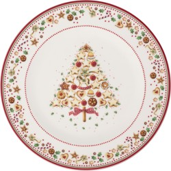 Platou 32 cm Winter Bakery Delight Buffet plate-364028
