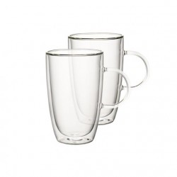 Set 2 cani transparente Artesano hot bev XL-363885