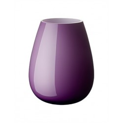 Vaza drop large 22.8 cm dark lilac, cod 339293