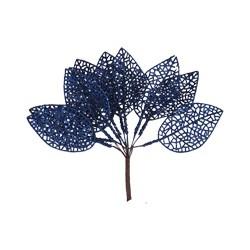 Manunchi frunze cu sclipici - 40883