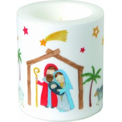 Lumanare Deco Lantern Christmas Crib CKM823400