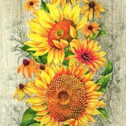 Servetele Le Tournesol, floarea soarelui- L827039