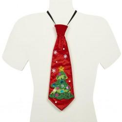 Cravata cu motive de Craciun - TR 26077