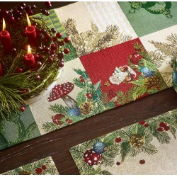 87568 Runner X-MAS Decoration 32x96 cm- 257201