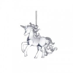 Decoratiune Craciun- unicorn 16017