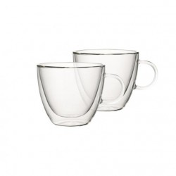 Set 2 cani transparente Artesano Hot Cup S -363854