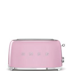 Prajitor de paine 4 felii roz Smeg TSF02PKEU