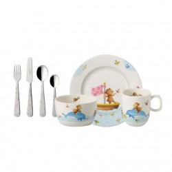 Set 7 piese vesela copii Happy as a bear 364165