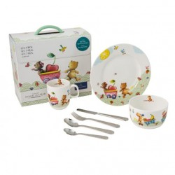 Set 7 piese vesela copii Hungry as a bear 364189