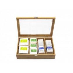 Cutie pentru ceai cu compartimente flexibile, 184004