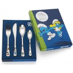 Set 4 tacamuri argintate The Smurfs - 359990