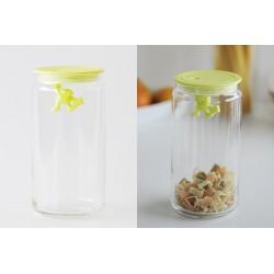 Recipient depozitare diverse condimente, alimente Gianni green largE