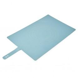 Blat din silicon pentru patiserie albastru, Joseph Joseph- 200973