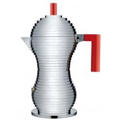 Espressor Pulcina 6 cup red