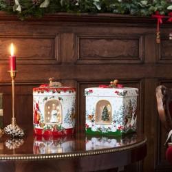 Cutie muzicala/suport lumanare Christmas Toy's - 392502