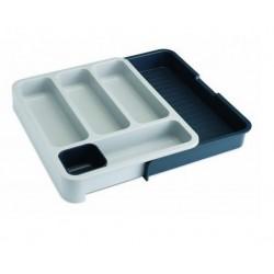 Organizator extensibil tacamuri drawer store grey-85042