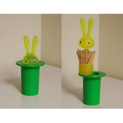 Suport scobitori magic bunny green