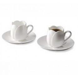 Set 2 cesti espresso tulip