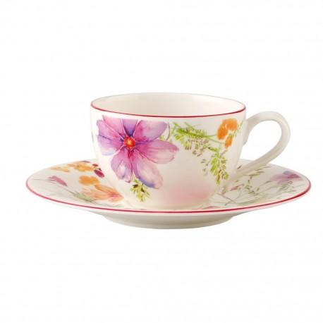 Ceasca capucino/ceai cu farfurie mariefleur basic- 179806/179813
