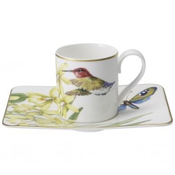 Ceasca espresso cup and saucer 2 pcs amazonia