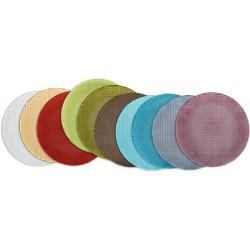 Platou cristal 32 cm clear colour concept