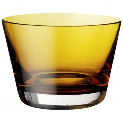 Bol aperitive amber colour concept, cod 161078