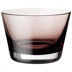 Bol aperitive burgundy colour concept