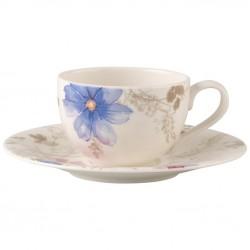 Ceasca cafea cup and saucer mariefleur gris basic, cod 188792/188808