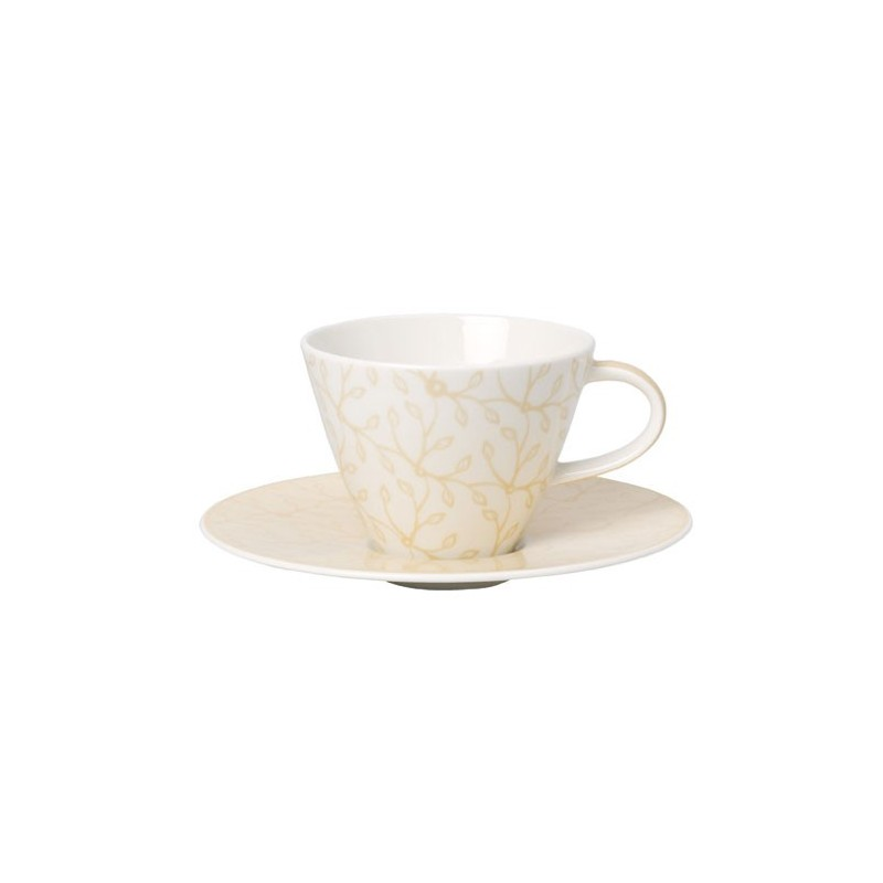 ceasca cafea cup and saucer caffe club floral vanille deco in