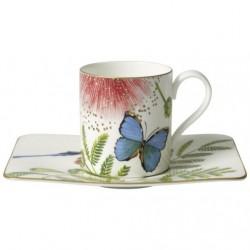 Ceasca cafea cu farfurie amazonia, cod 194489/194496