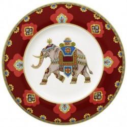 Farfurie desert sau aperitiv 22 cm samarkand rubin, cod 159839