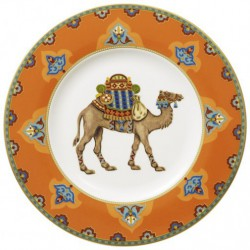 Farfurie desert sau aperitiv 22 cm samarkand mandarin, COD 159884