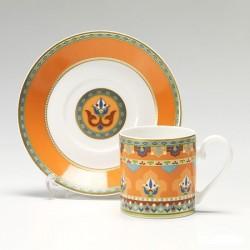 Ceasca espresso cu farfurioara Samarkand mandarin, cod 159860 /159877