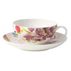 Ceasca ceai cu farfurie Anmut flowers, cod 245662/238039