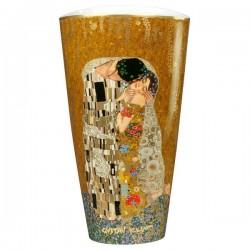 Vaza Portelan h 20 cm The Kiss Gustav Klimt, cod 266089
