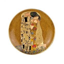 Farfurie desert 20 cm The Kiss Gustav Klimt, cod 249051