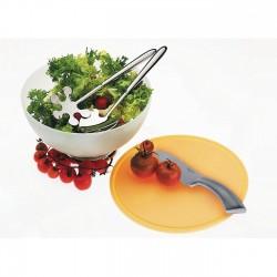 Set bol salata si tocator Primavera