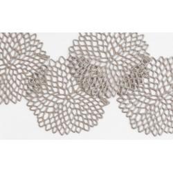 Set 6 suporturi pahare Dahlia nisipiu