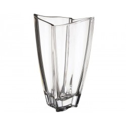 Vaza sticla cristalizata Newwave 25 cm, cod 239657