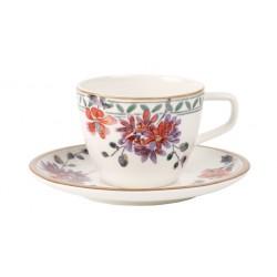 Ceasca cafea cu farfurie Artesano Provencal Verdure-233478