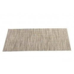 Placemat vinyl 33*46 cm maron crem grau natur
