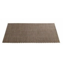 Placemat vinyl 33*46 cm maron inchis dunkelbraun
