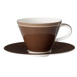 Set 3 piese cappuccino Caffe club uni mocha