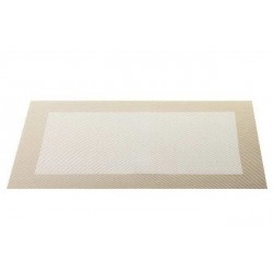 Placemat vinyl 33*46 cm offwhite