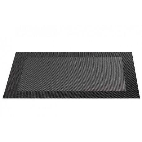 Placemat vinyl 33*46 cm gri inchis