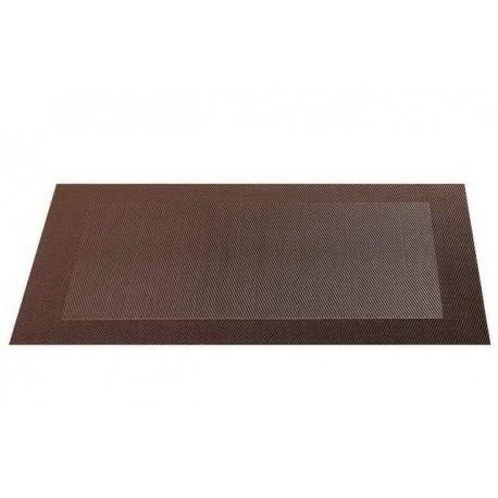 Placemat vinyl 33*46 cm maron